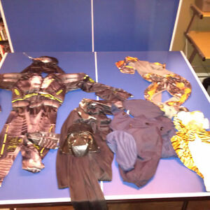7 Costumes for sale