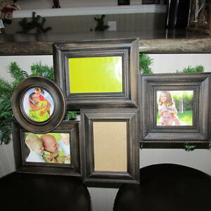 5 PICTURE FRAMES ALL ATTACHED FROM HOBBY LOBBY