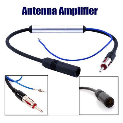 25db Autoradio Antenne Antennenverstärker AM FM Inline Signal Verstärker Booster