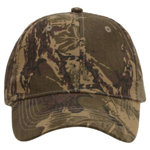 Selling BRAND NEW Camo Classic Hat / Cap with Woodland Pattern