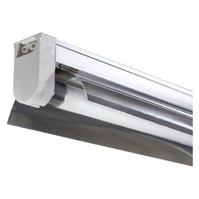 - T5 2 Ft 4 Tube Fixture Designer System w/ Fluorescent Bulbs  ULTRAGROW