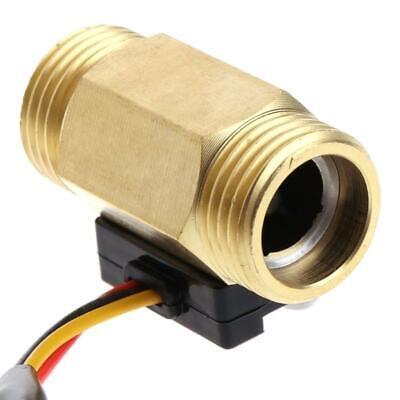 Flow Sensor G12 Water Flow Hall Sensor Switch 1-25lmin Flow Meter Flowmeter