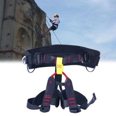 Thicken Seat Harness Mountain Rock Wall Tree Climbing Caving Rescue Equipment