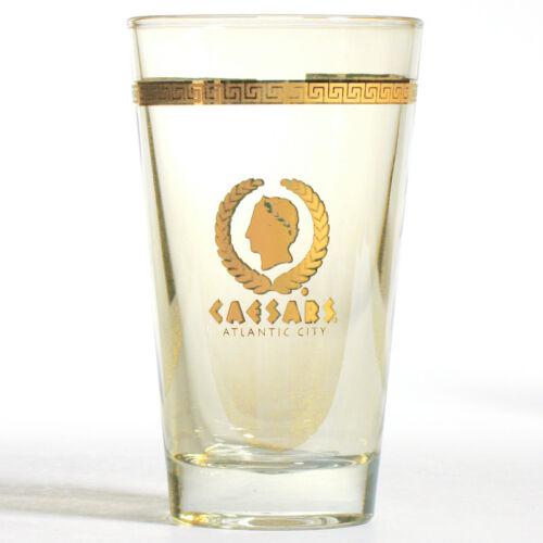 CAESARS Pint Beer Glass ATLANTIC CITY