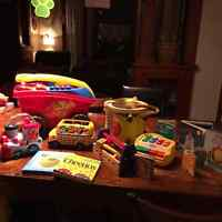 Assortment of Toys Ages 1 - 3