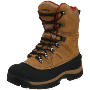SIZE 14 MENS KAMIK PATRIOT LEATHER WINTER BOOTS