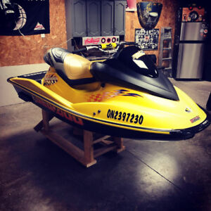 2001 sea doo RXX 1.7 hours on the motor
