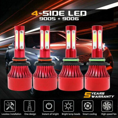 9005 9006 4400W 660000LM Combo LED Headlight Kits High Low B