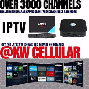 ANDROID TV BOX: NEXBOX A95X, Over 3000 Channels!