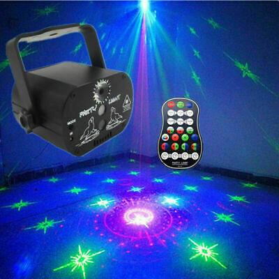 90 Pattern Laser Projector Stage Light LED RGB Party KTV Club DJ Disco Lights UK