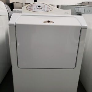 DRYER MAYTAG MOD MDE5500AZW WHITE WITH WARRANTY!
