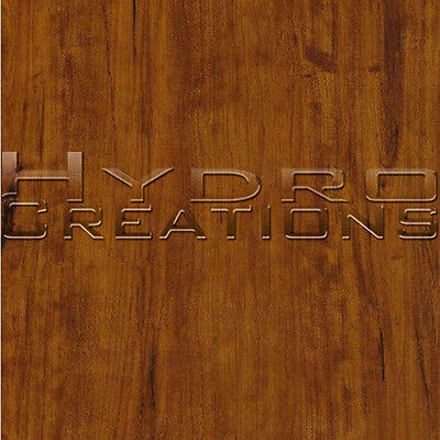 Hydrographic Film Hydro Dipping Water Transfer Film Pine Wood Grain 38.5 X 19