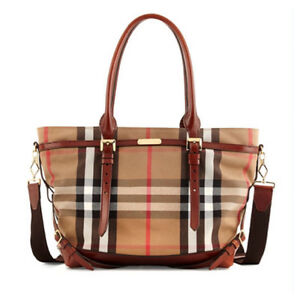 Barely Used Authentic Burberry Diaper Bag