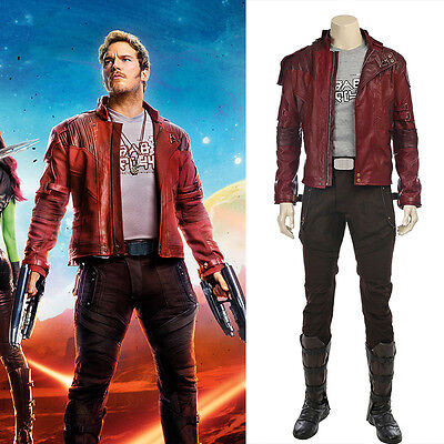 Guardians of the Galaxy 2 II Star-Lord Cosplay Kostüm Costume Peter Jason Quill  ()