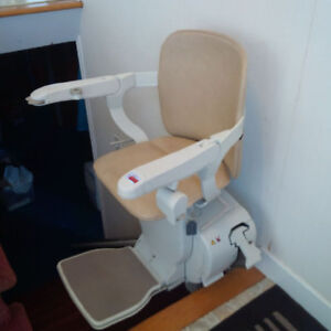 Stair Chair Lift by Stannah