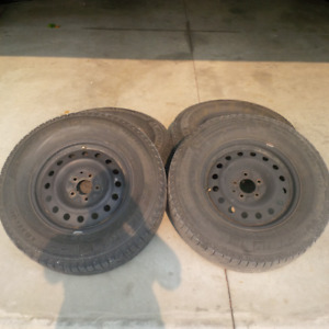 2008 ford escape winter tires and rims