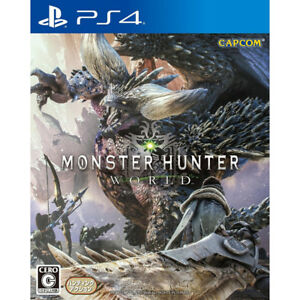 MONSTER HUNTER WORLD - USED, IN GREAT CONDITION