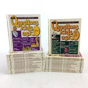 Questions Kids Ask Books Complete Set 1-27 & Index Vintage 1989