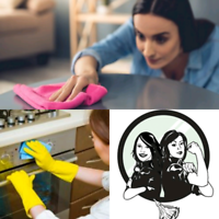 2 POLISH LADIES WILL CLEAN YOUR HOUSE IN DETAILS- OAK-BRL