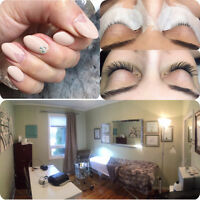 Gel Nails /Lash Extensions / Brow Tint & Waxing