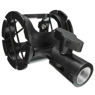 Universal Shotgun Microphone Suspension Shock Mount Pencil Condenser Holder Clip ()