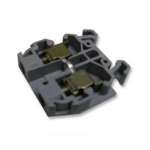 NEW ABB 011049117 DR4/6.1 GRAY TERMINAL BLOCK, BOX OF 50