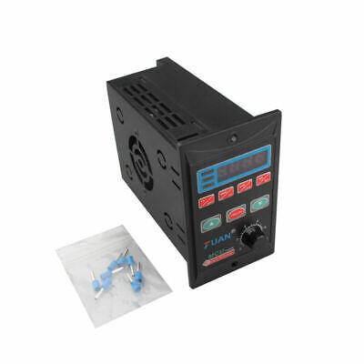 110v-220v Single Phase3-phase Variable Frequency Drive Converter Motor Vfd 750w