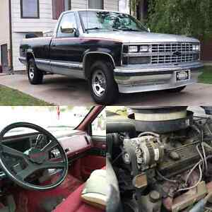 Trade or cash 1989 Chevy silverado 350v8