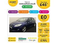 Ford Focus 1.0 SCTi EcoBoost r FROM £45 PER WEEK