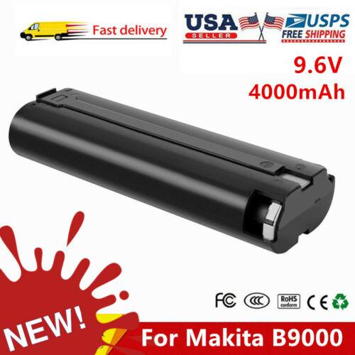 9.6V 4.0Ah For Makita B9000 9000 Battery 9.6-Volt 9033 63200