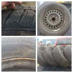 Avalanch X-Treme Studded witer tires on rims
