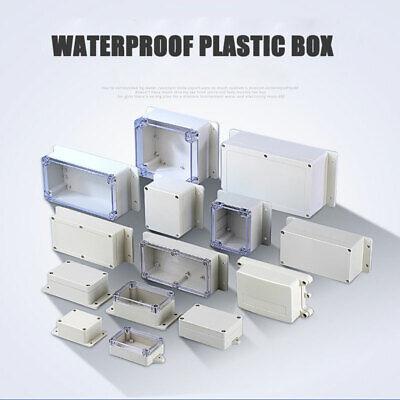 27 Size Plastic Electronics Project Box Enclosure Instrument Case Diy With Screw