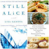 Dinner & a Book Club	with Chef Hannah Dixon