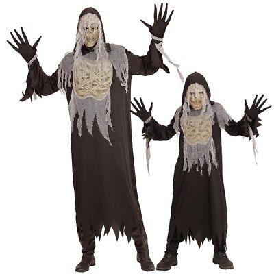Mumie Erwachsenen Kostüme (MUMIE Monster Horror PARTNER Kostüm Erwachsene Kinder Jugendliche Halloween)
