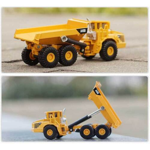1:87 Scale Tipping Vehicle Lorry Model Toys Dump Truck Dieca