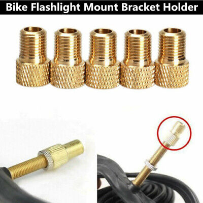 5X Presta to Schrader Car Bicycle Bike Tube Cap pump connector Adapter Valve RS