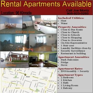2 Bedrooms $900 Apartment for Rent