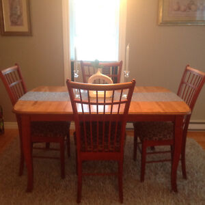1. Dining Table/6 chairs. 2. wall unit. 3. Lladro