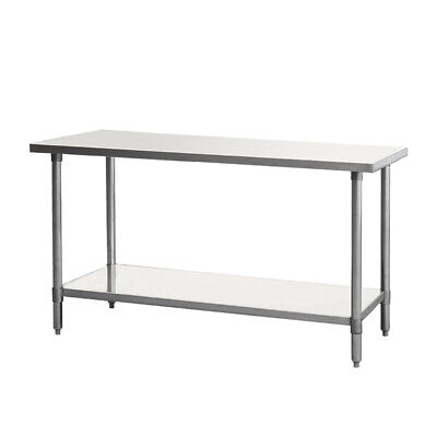 96 Inch Stainless Steel Work Table 96x30x34 Tl39633 Free Shipping