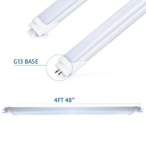 Купить 25Pcs LED T8 Fluorescent Tube Light 4ft Daylight Ballast-Free Dual-Ended Power