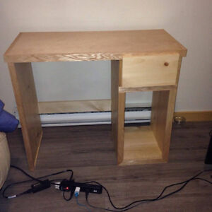 willing to build desks and anything