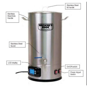 Brewers Edge electric BIAB all grain beer brewing homebrew