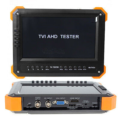 Us X41ta 7hd-ahdtvihdmivgacvbs 5in1 Input Cctv Camera Video Tester