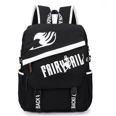 5916a7092b1a Anime Fairy Tail Guild Logo Canvas Backpack Sport Travel School Bag  Shoulder Bag