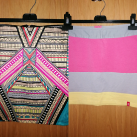 2 Mini Skirts