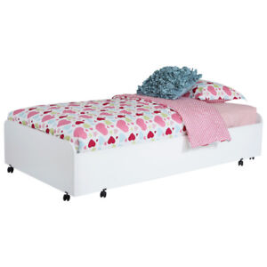 Mobby Transitional Kids Bed - Single - Pure White