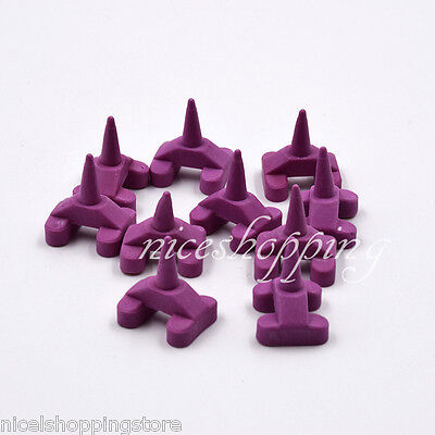 5 Pcs Ceramic Firing Pegs Dental Lab For Porcelain Oven Tray D Type