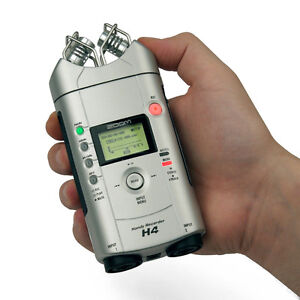 Zoom H4 4 channel handheld portable recorder