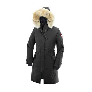 Canada Goose, Kensington Parka Fusion Fit Womens, Black