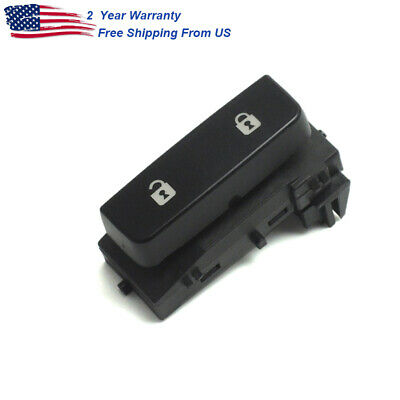 Master Door Lock Switch Front Driver Side for 2008 2013 Chevy Silverado 1500 GMC